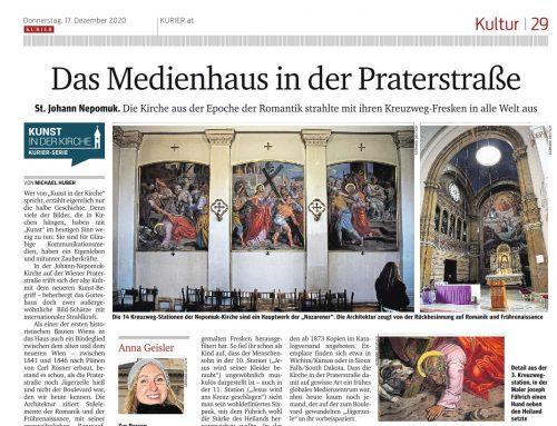 Medien: Unsere Kirche im Kurier